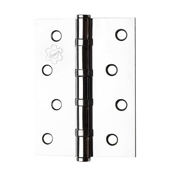 Dobradiça Aço 3x2.1/2 Cartela com 3 Rolamento 891 Cromada - Ref.95120 - SILVANA