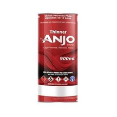Thinner 900ml 2750 - Ref. 000081-23 - ANJO TINTAS