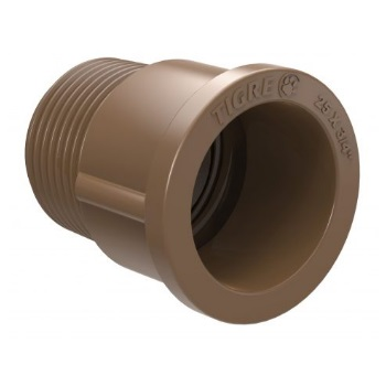 Adaptador Soldável Curto PVC 85X3mm - Ref. 22000853 - TIGRE