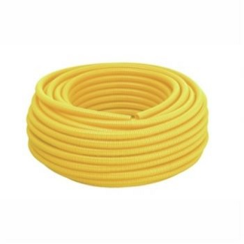 Eletroduto Corrugado PVC 1/2 Amarelo - Ref.14210202 - TIGRE