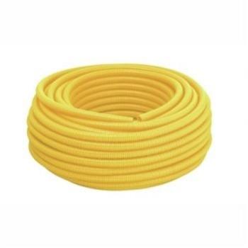 Eletroduto Corrugado PVC 1 Amarelo - Ref.14210326 - TIGRE