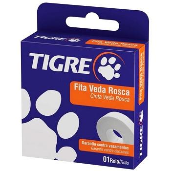 Fita Veda Rosca 18mmx50m - Ref.54501951 - TIGRE