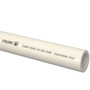 Tubo Soldável CPVC 35mm 3m Aquatherm - Ref.17001086 - TIGRE