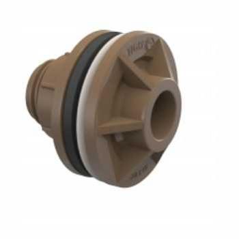 Adaptador Soldável PVC 50x1.1/2 Caixa D Água Anel - Ref.22002481 - TIGRE