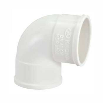 Joelho Esgoto PVC 40MM 90G - Ref.0616 - KRONA