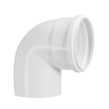 Joelho Esgoto PVC 100MM 90G - Ref.0619 - KRONA