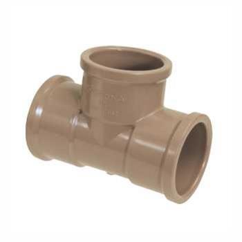 Tê Soldável PVC 25mm - Ref. 0455 - KRONA