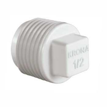 Plug Roscável PVC 1/2 - Ref. 0293 - KRONA