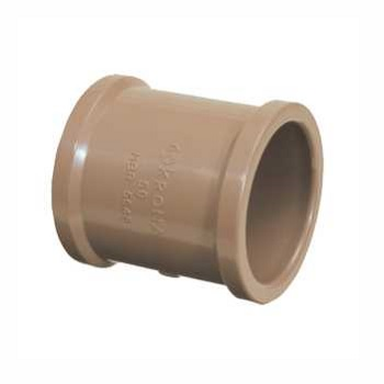 Luva Soldável PVC 25mm - Ref. 0436 - KRONA
