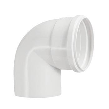 Joelho Esgoto PVC 50MM 90G - Ref.0617 - KRONA