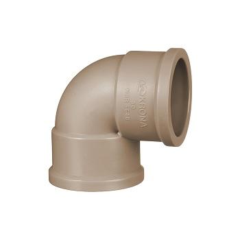 Joelho Soldável PVC 25mm 90G - Ref.0425 - KRONA