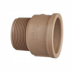 Adaptador Soldável PVC 50x11/2 Curto - Ref.0336 - KRONA