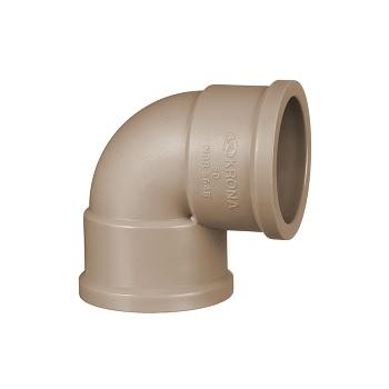 Joelho Soldável PVC 20mm 90G - Ref.0424 - KRONA