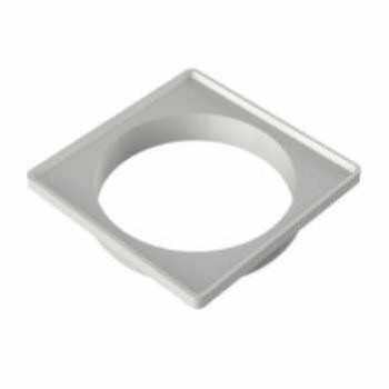Porta Grelha PVC 100m Quadrado Branco - Ref.27611222 - TIGRE