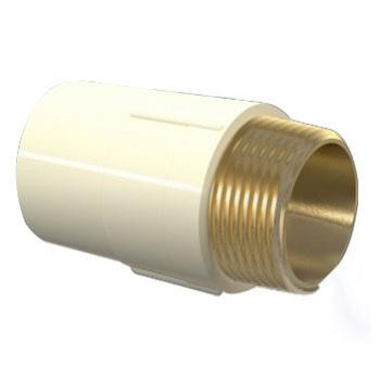 Conector  Macho CPVC 28x1 Aquatherm - Ref.22850679 - TIGRE