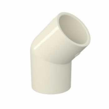 Joelho Soldável CPVC 22mm 45g Aquatherm - Ref.22850750 - TIGRE