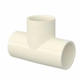 Tê Soldável CPVC 22mm Aquatherm - Ref.22851950 - TIGRE