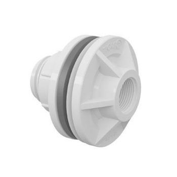 Adaptador Roscável com Anel para Caixa D Água PVC 1/2 Polegada - Ref. 20002409 - TIGRE