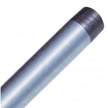 Tubo Aço 2.1/2 3m Roscado Sem Pressão Zincado - Ref.001208 - ELECON