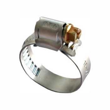 Abraçadeira de Aço Carbono 1/2x5/8 Polegada 13x16 Rosca Sem Fim - Ref.10.001.0093 - INCA