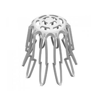 Grelha em PVC Hemisférica Flexível para Calha DN88 a 100 - Ref. 32196152 - TIGRE