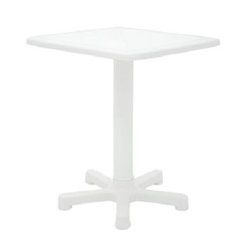 Mesa Plastica 56x56cm Quadrada Itaparica Branca - Ref. 92305/010 - TRAMONTINA