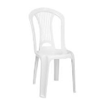 Cadeira Plástica Atlântida Branca - Ref.92013/010 - TRAMONTINA