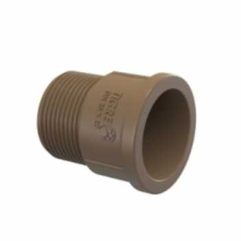 Adaptador Soldável Curto PVC 40mm x 11/2 Polegadas - Ref. 22007939 - TIGRE