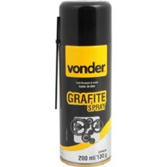 Grafite Spray 130g Lubrificante - Ref. 5199040107 - VONDER