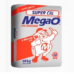 Cal Hidratado Saco Com 10kg - Ref.000106 - MEGAÓ