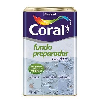 Fundo Preparador De Parede Base Água 18 Litros - Ref. 5202618 - CORAL