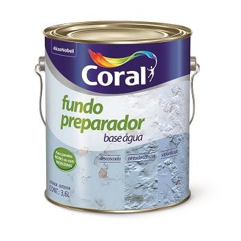 Fundo Preparador De Parede Base Água 3,6 Litros - Ref. 5202617 - CORAL