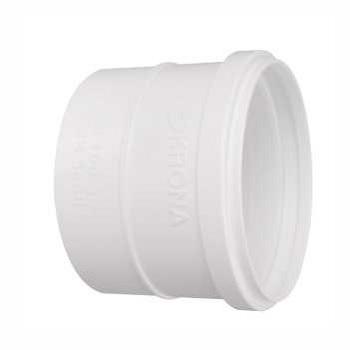 Luva Esgoto PVC 100MM Simples - Ref. 0647 - KRONA