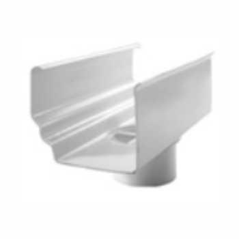 Bocal Retangular PVC Descida Água - Ref.38 - GRANPLAST