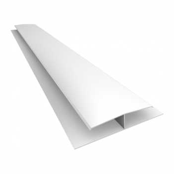 Emenda de PVC 6m Pratic Branco - Ref.030101010101