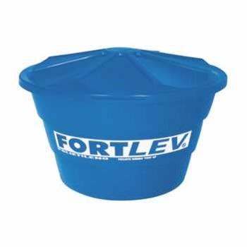 Caixa D  Água Polietileno 150 Litros Cônica Com Tampa - Ref.02010002 - FORTLEV