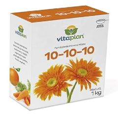 Fertilizante 1kg Adubo Form 10.10.10 - Ref. 8000108-U - NUTRIPLAN