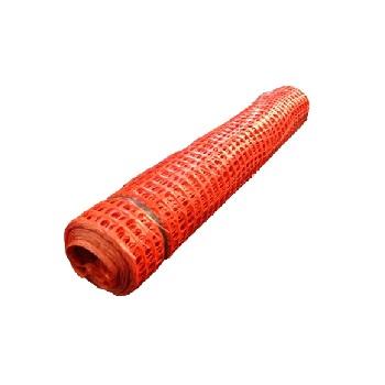 Tela Plástica 1,20m De Largura Tapume Para Sinalização Laranja - Ref.MT954LJ - ROMA