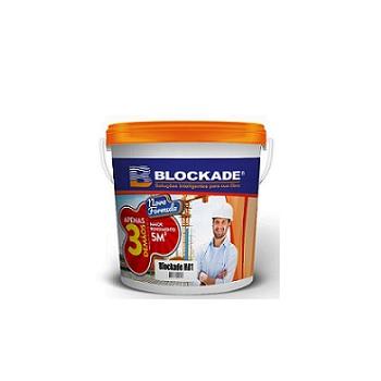 Impermeabilizante Acrílico Galão de 5kg HB1 Azul - Ref.01010102100 - BLOCKADE