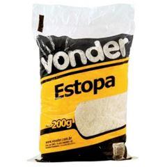 Estopa Branca Polimento Com 200g - Ref. 6340013000 - VONDER