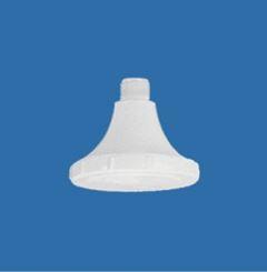 Chuveiro Plástico 4 Crivo Branco - Ref.1601 - LUCONI