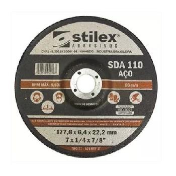 Disco Desbaste 7 Para Aço SDA110/210 - Ref.DD006 - STILEX