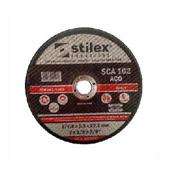 Disco Corte 7X7/8 Para Aço SCA 102 - Ref.DC006 - STILEX