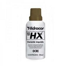Corante Base Água 50ml HX Ocre - Ref. 613326630 - HIDRACOR