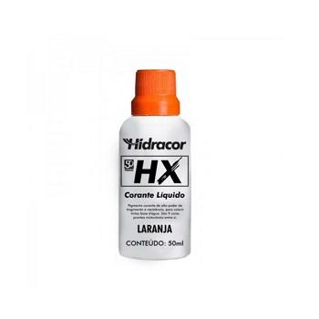 Corante Líquido HX Laranja 50ml - Ref. 6030000015 - HIDRACOR.