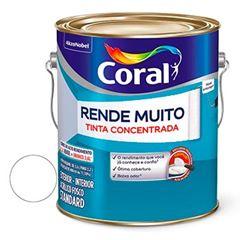 Tinta Acrílica Fosca Rende Muito Branco 3,6 Litros - Ref. 5202143 - CORAL