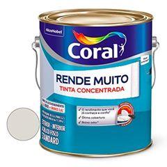Tinta Acrílica Fosca Rende Muito Branco Gelo 3,6 Litros - Ref. 5202149 - CORAL