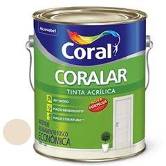 Tinta Acrílica Fosca Coralar Areia 3,6 Litros - Ref. 5202334 - CORAL