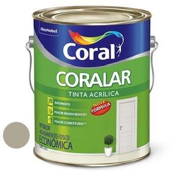 Tinta Acrílica Fosca Coralar Concreto 3,6 Litros - Ref. 5202326 - CORAL