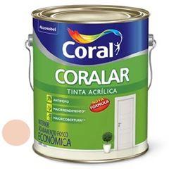 Tinta Acrílica Fosca Coralar Pêssego 3,6 Litros - Ref. 5202328 - CORAL